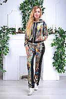 Женский велюровый турецкий костюм Eze, разм 50, 52,54,56