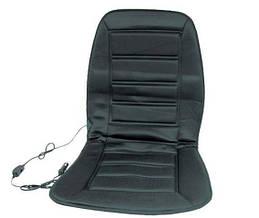 Накидка на сиденье с подогревом черная низкая, Дорожная карта, DK-514BK