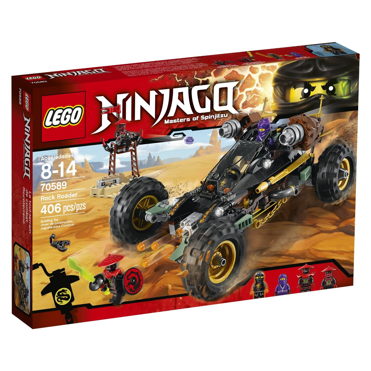 Конструктор LEGO NINJAGO 70589 Гірський позашляховик