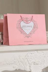 Подарочный бумажный пакет/коробка Миа-миа