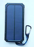 Внешний аккумулятор UKC 32800mAh с солнечной панелью и светильником, POWER BANK Solar