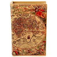 "Шкатулка книга ""Antik map"""