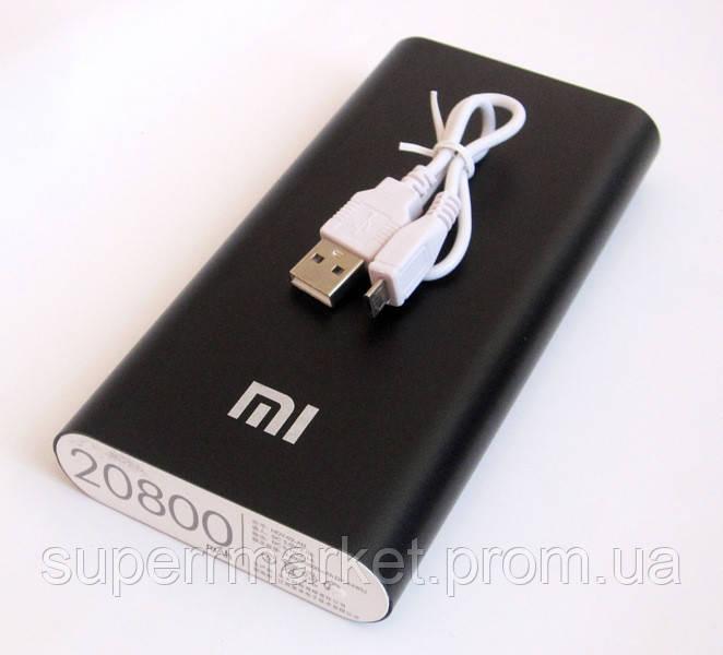 Универсальная батарея - Xiaomi power bank MI 8 20800 mAh, black