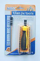 Набор отверток 32в1 Lian Jie tools, с удлинителем