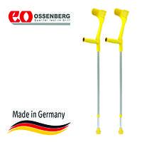 Костыли подлокотные «Klassiker» Ossenberg 220 DK (красный, зеленый, желтый, фиолетовый, бирюзовый)