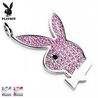 Стальной кулон Playboy PBSP 004
