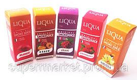 Набор жидкостей для сигарет - LIQUA MIX: 5 шт. никотиновых + 5 шт. безникотиновых, фото 3