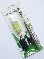 "Электронная сигарета  EGO-CE4 650 mAh + заправка ""Apple"", silver"