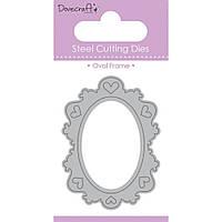 Нож для вырубки от Dovecraft Value Die - Oval Frame (499993481574)
