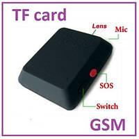 Мини GSM микрофон с видеокамерой, регистратор dv dvr X009, охрана, наблюдение. (в коробке)