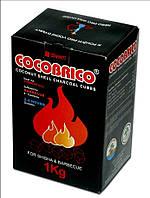 Уголь для кальяна 72шт, Уголь кокосовый 1кг, Прессованный уголь