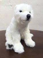 """Мягкая игрушка Hansa """"Белый медвежонок"""" 4281"""