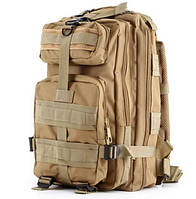 Рюкзак тактический штурмовой 26L песчаный , фото 1