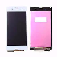 Дисплей Sony D6603/D6633/D6643/D6653 LCD Sony Xperia Z3 + тачскрин белый