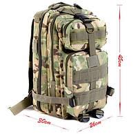 Рюкзак тактический штурмовой 26L Цвет мультикам, хаки , фото 1
