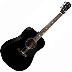 Акустическая гитара Fender CD-60 BK
