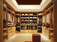Большие гардеробные