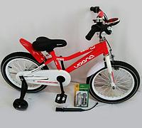 """Велосипед двухколесный """"Manchester Kid-16"""" OPT-S-N-100 (утолщенные спицы,на руле световой звонок,насос,в комплекте)"""