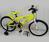 """Велосипед двухколесный """"Knight-20"""" OPT-S-N-300 (Обода колес двубортные усиленные DoubleWall, спицы утолщенны,электрический световой звонок,насос в"""