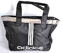 Молодежная женская сумка ADIDAS (черный) SU-1124, фото 1