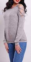 """ПП Украина Блузка, кофта  с длинным рукавом """"Хани"""", блуза с 42  по 48 размер"""