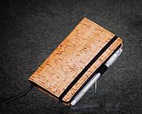 Блокнот с черной бумагой Бамбук мини, фото 1