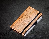 Блокнот с черной бумагой Бамбук стандарт, фото 1