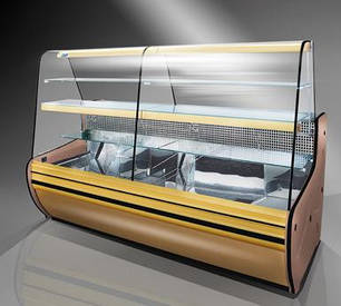 Кондитерская холодильная витрина Cold C-12G, фото 2
