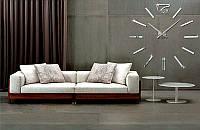 Настенные интерьерные часы Woow white (D=1м)