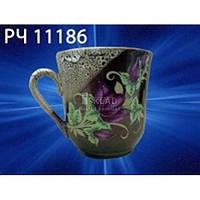 Кружка Славянская керамика Пенка коричневая 350 мл РЧ-11186