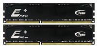 Модуль памяти DDR3 2x4GB/1600 Team Elite Plus Black (TPD38G1600HC11DC01)