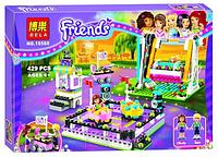 Конструктор bela friends (копия) 10560 «парк развлечений: аттракцион «автодром»» (429 дет) кк
