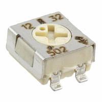 TS53YL502MR10-Vishay (5 kOhm ±20%, 0.25W, SMD: 5x5x2.7mm) (подстроечный резистор)