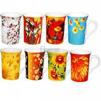 Чашка Цветы 250 мл 2110