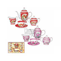 Сервиз чайный 15 пр. Горошек 1790