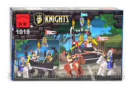 """BRICK 1018 Рыцари """"Освобождение короля"""" 160 дет, в коробке"""