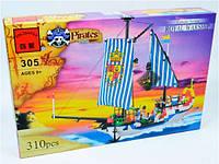 """BRICK 305 """"Пиратский Корабль"""" 310 дет, в коробке"""