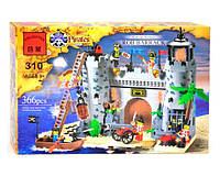 """BRICK 310 """"Пиратская Крепость"""" 366 дет, в коробке"""