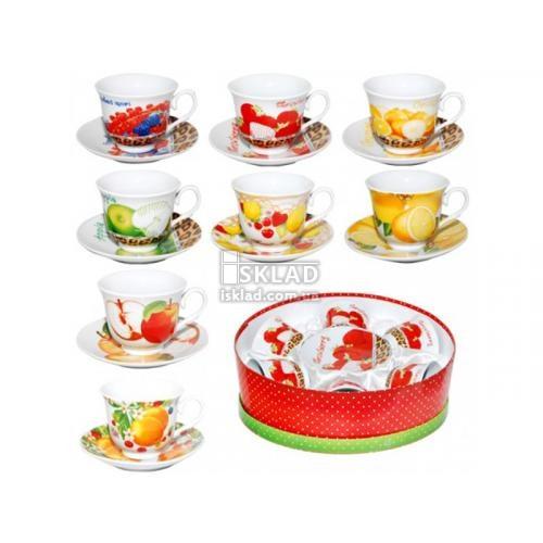 Сервиз чайный S&T Фрукты 12 пр 151-04