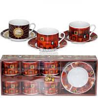 Сервиз кофейный Кафе 12 предметов 022-12-10