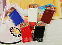 Чехол для iPhone 5/5s - HPG Floral leather cover