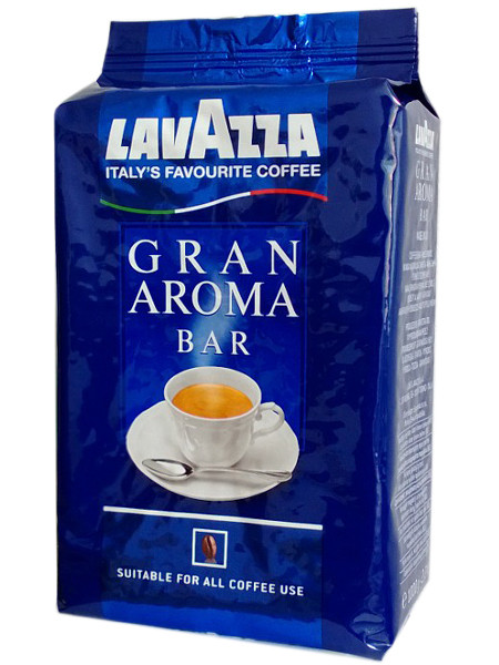 Кофе Lavazza Gran Aroma Bar в зернах 1 кг