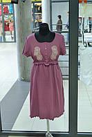 Женская хлопковая ночная рубашка, фото 1