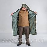 Плащ дощовик не промокаемый камуфляж, фото 2