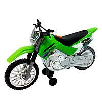 Игрушечные машинки и техника «Toy State» (33412) мотоцикл Kawasaki KLX 140 Moto-Cross  Bike Road Rippers, 25 см (свето-звуковые эффекты)