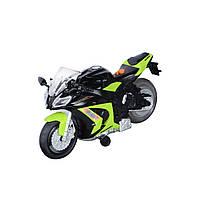Игрушечные машинки и техника «Toy State» (33411) мотоцикл Kawasaki Ninja ZX-10R Road Rippers, 25 см (свето-звуковые эффекты)
