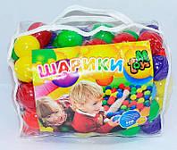 """Шарики для сухого бассейна """"80 мм мягкие"""" в сумке 100 шт. """"M-TOYS"""""""