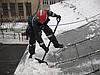 Очистка крыш и кровли от снега и наледи