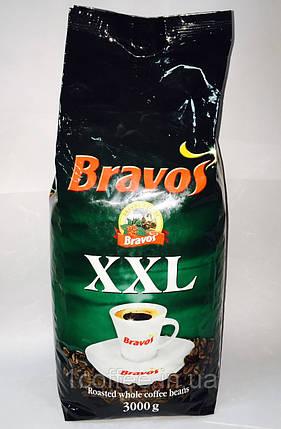 Кофе в зернах Bravos XXL 3000г, фото 2