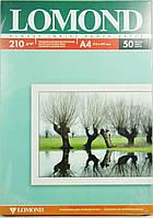 Фотобумага LOMOND двухсторонняя глянец/мат, 210g A4*50